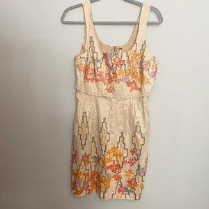 Free People Aztec shimmer mini dress 6